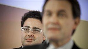 Artur Mas y David Madí, en el 2010.