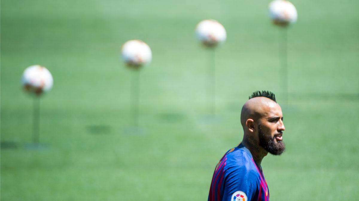 Arturo Vidal: Estoy feliz de estar en el mejor club del mundo.