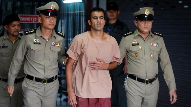 Australia demanda a Tailandia que libere a Hakeem al Araibi, el futbolista bareiní retenido.