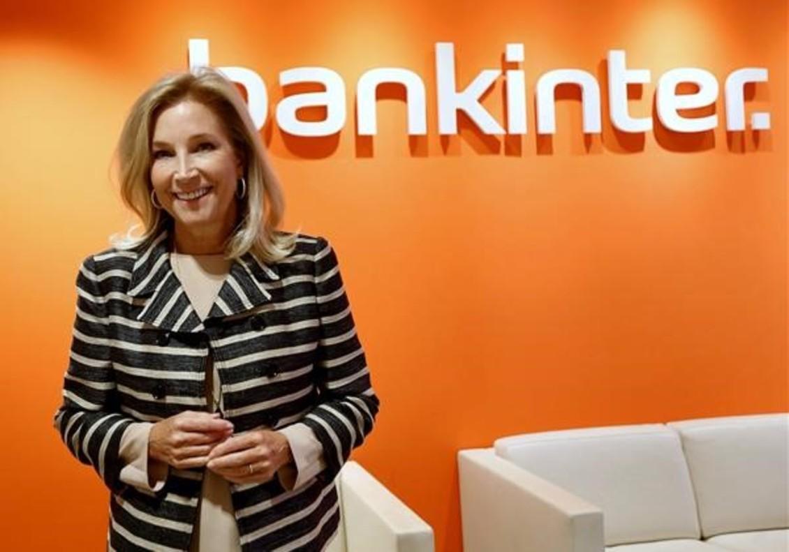 María Dolores Dancausa, primera ejecutiva de Bankinter