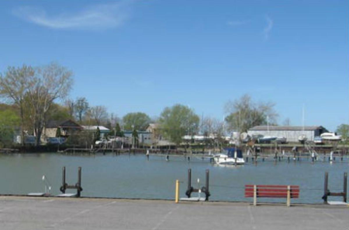 La Barcelona del municipio de Westfield, en el estado de Nueva York (EEUU), es conocida por su puerto y su faro.