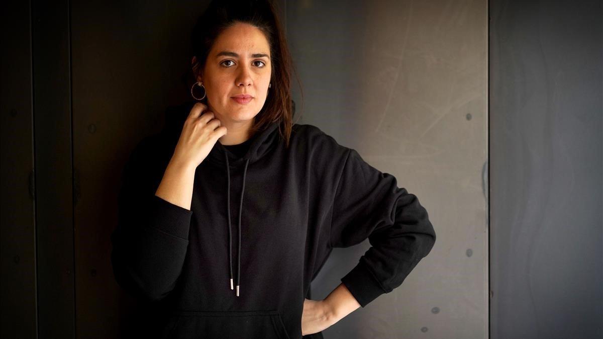 Belén Funes, directora de 'La hija de un ladrón', fotografiada esta semana en Madrid