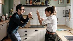 Berto Romero y Eva Ugarte, en la tercera temporada de 'Mira lo que has hecho'.
