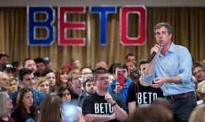 Beto ORourke,candidato presidencial democrata de Estados Unidos. EFE