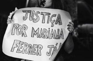 Protestas por el caso de abuso sexual de una joven en Brasil.