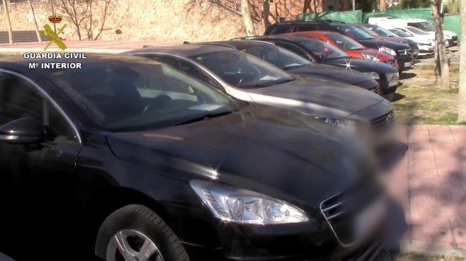Cae una red que restaba kilómetros a los coches de lujo que compraba en Europa.