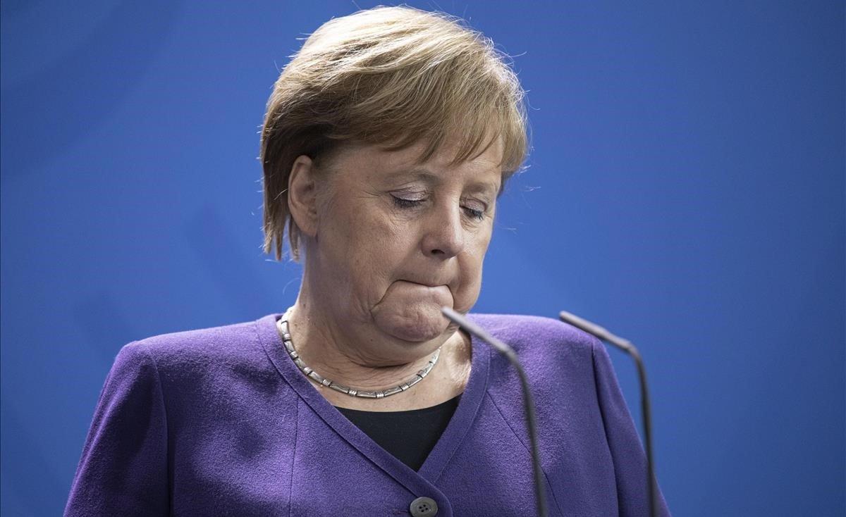 La cancillera alemana, Angela Merkel.
