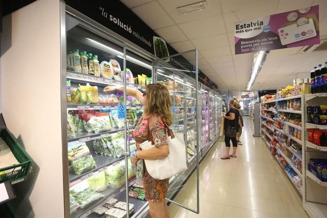 Supermercado de Caprabo en Terrassa.