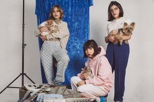 El trío madrileño Cariño, en una imagen promocional.