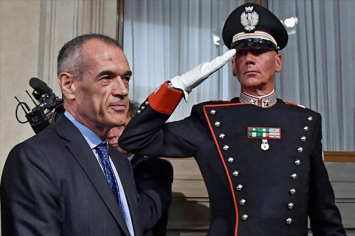 Carlo Cottarelli.