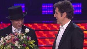 'Tu cara me suena': Carlos Baute gana por segunda semana consecutiva gracias a su imitación de Fred Astaire