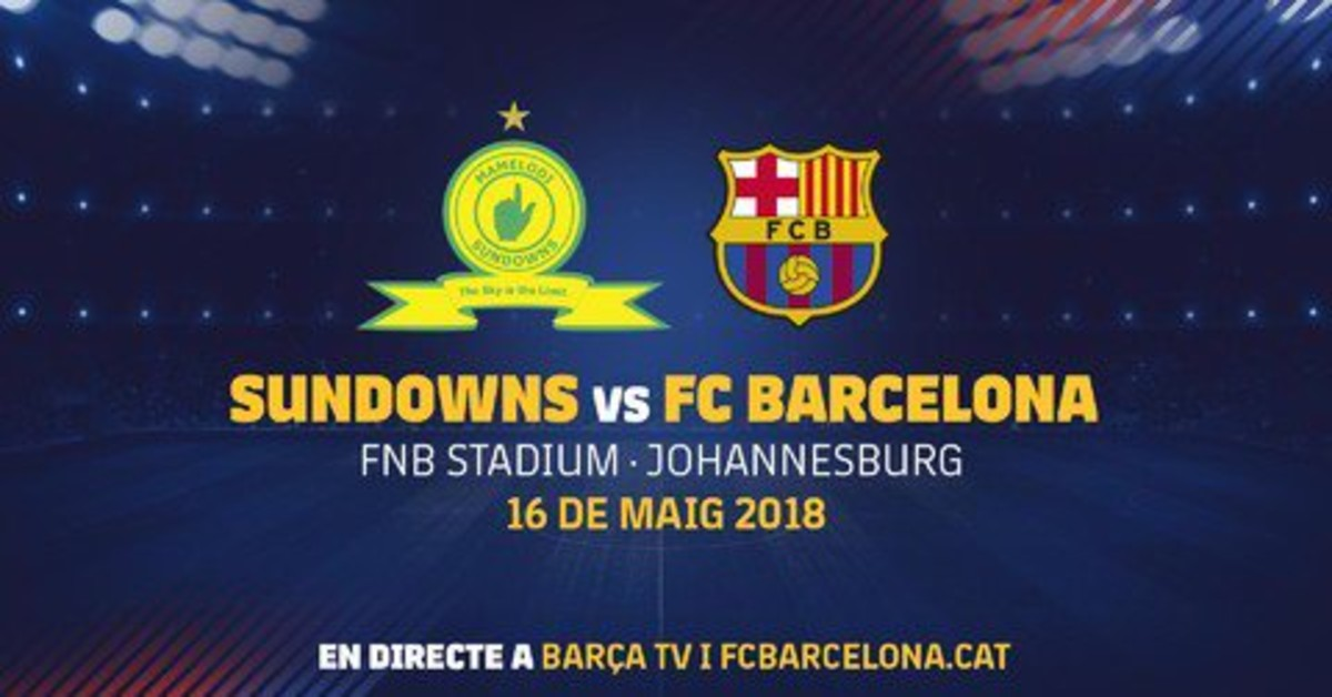 Cartel del partido amistoso en Sudáfrica.