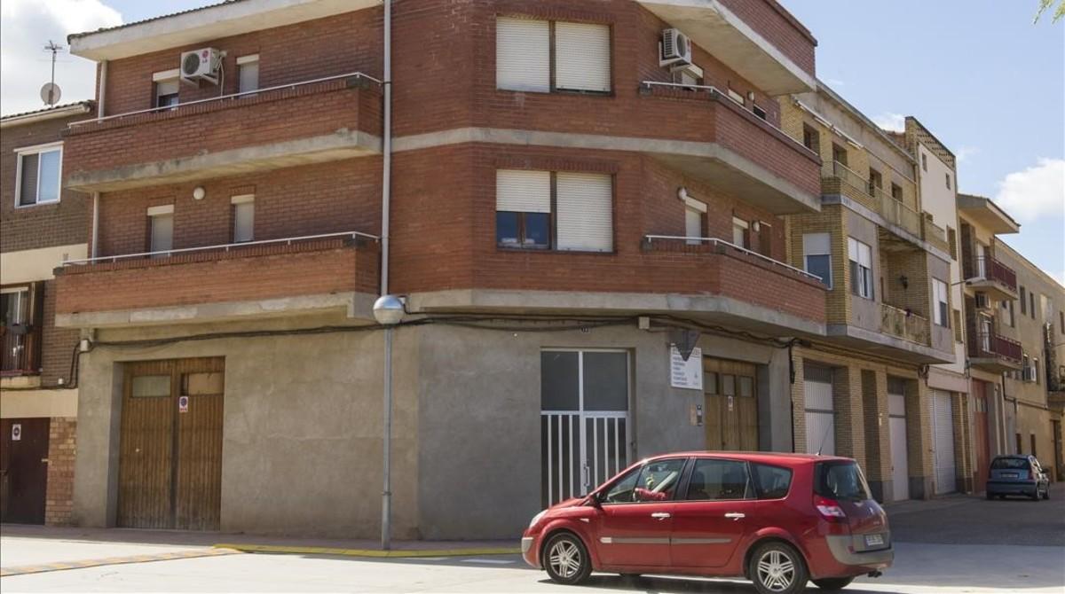 Casa donde vive David Duaigües, en Torres de Segre.