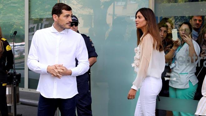 Casillas, al salir del hospital: No sé qué será del futuro, lo más importante era estar aquí.