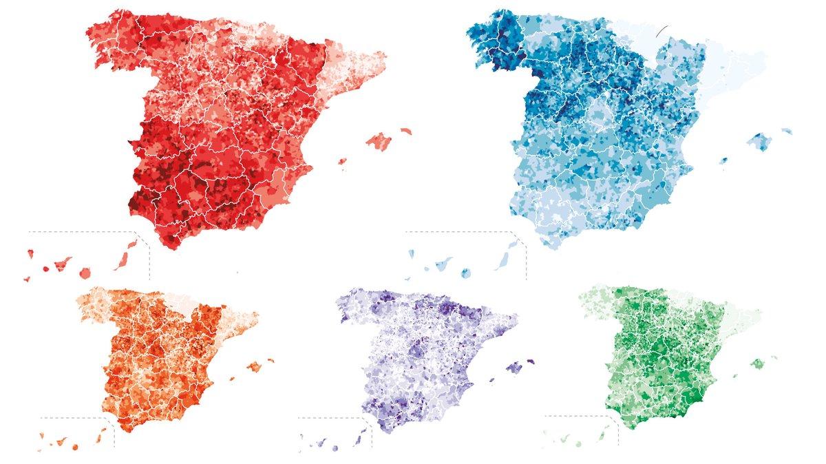 Les cinc Espanyes i les dues Catalunyes