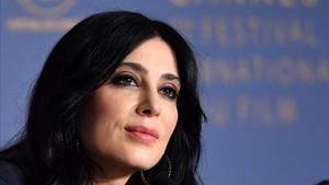 La cineasta libanesaNadine Labaki, en Cannes.