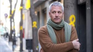 El cineasta Marc Recha, la semana pasada en Barcelona, donde presentó La vida lliure.