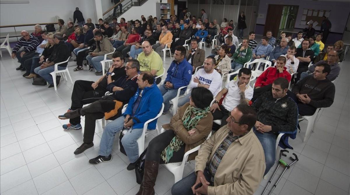 Reunión de la asociación de peñas taurinas de las Terres de l'Ebre.