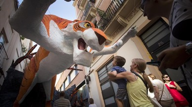 Los combates incruentos de Gràcia: Mowgli contra Chihiro