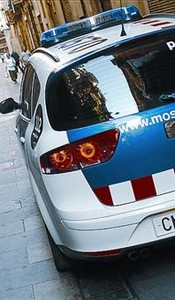 Un cotxe dels Mossos.