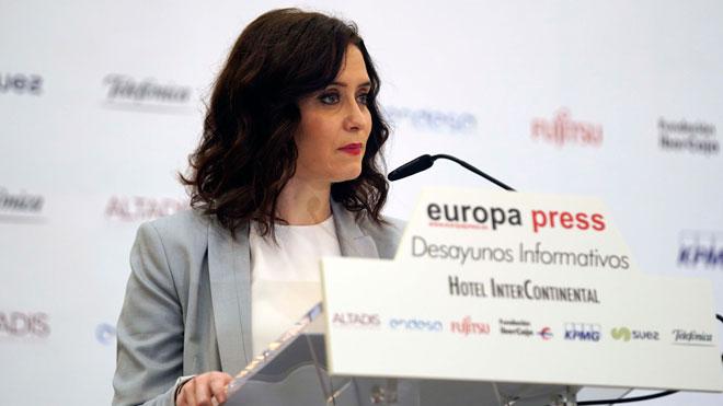 Díaz Ayuso, sobre el Mobile World Congress: Madrid está preparado para acoger el congreso. Iremos a por él.
