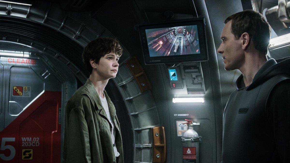 Escena de 'Alien: Covenant' .