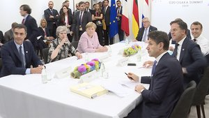 Reunión de los líderes europeos en el G20.