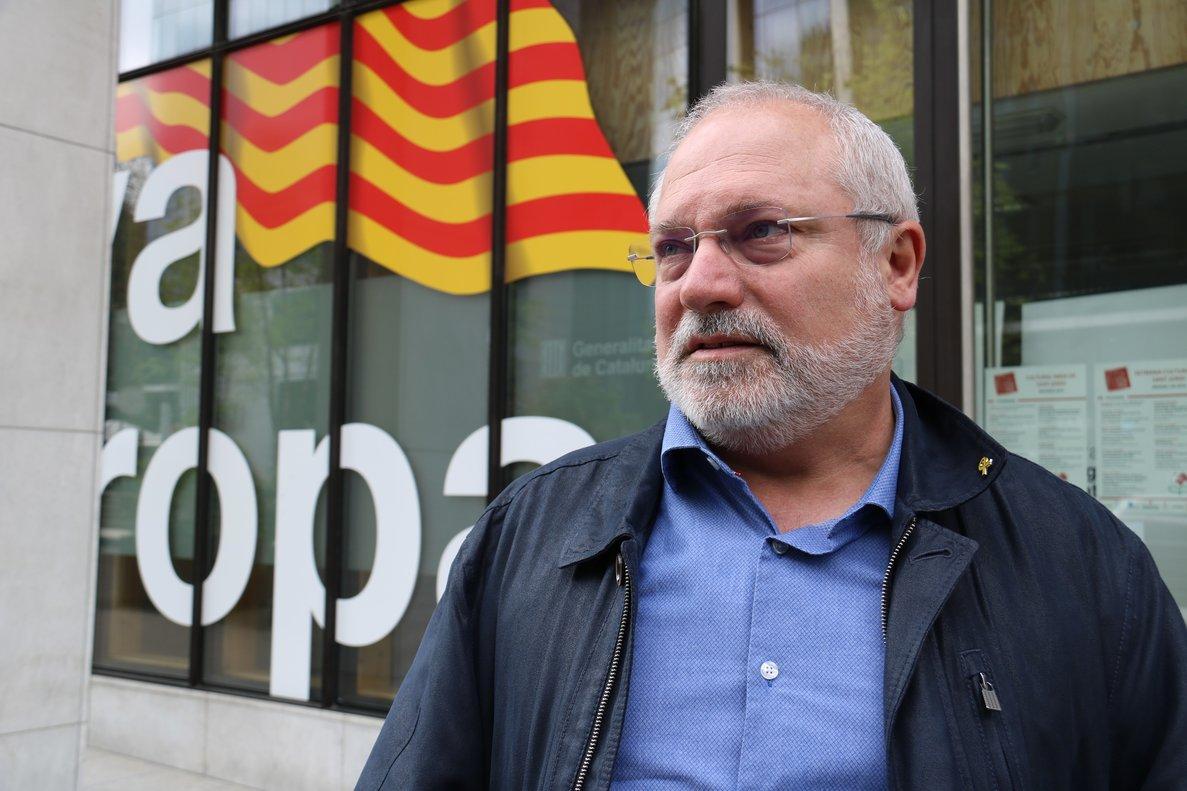 El 'exconseller' y candidato a la alcaldía de Terrassa, Lluís Puig.