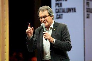 El expresidente de la Generalitat, Artur Mas.