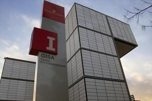 La fachada de la sede de la empresa GISA en Barcelona, en el 2011.