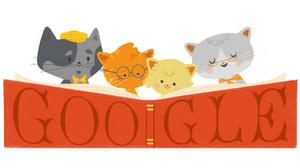 Google dedica su doodle a los abuelos.