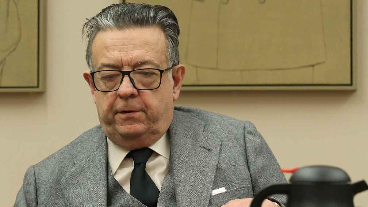 Miguel Herrero y Rodríguez de Miñón ha rebutjat avui de manera categòrica la possibilitat que Espanya vagi cap a un Estat federal.