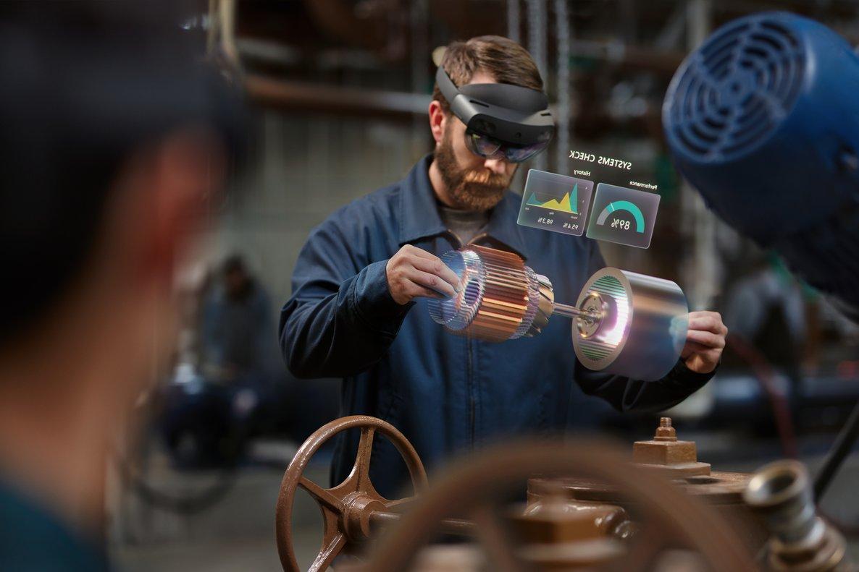 HoloLens 2 ofrece laexperiencia de realidad mixtapara optimizar procesos en las empresas.