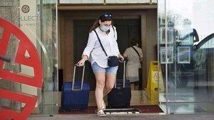 Allau de cancel·lacions als hotels de la Corunya després dels positius del Fuenlabrada