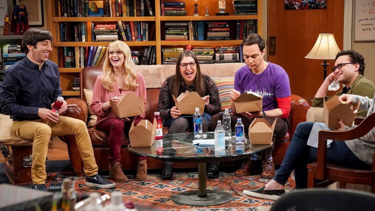 Imagen del último capítulo de 'The Big Bang theory'.