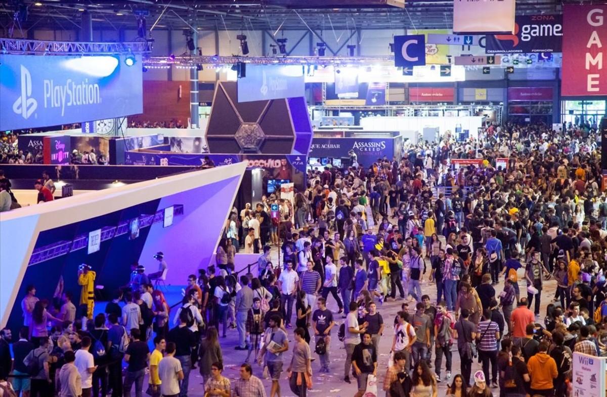 Imagen de la Madrid Games Week del 2015.