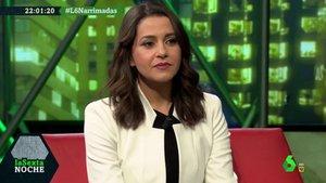 Inés Arrimadas en 'laSexta Noche'.