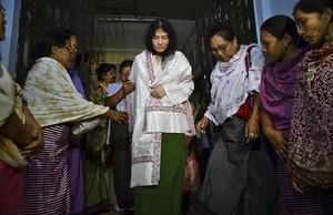 Irom Sharmila en una imagen de archivo del 20 de agosto del 2014.