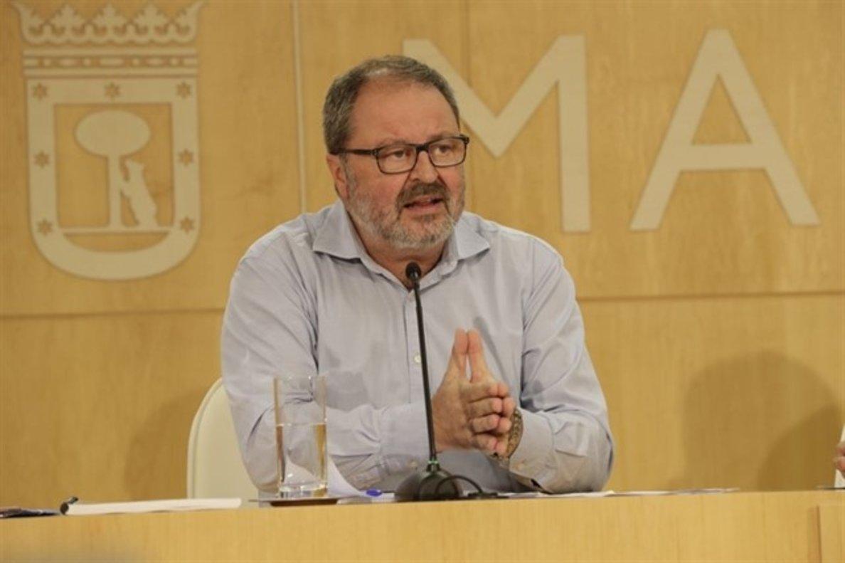 El delegado de Salud, Seguridad y Emergencias de la Comunidad de Madrid, Javier Barbero.