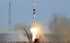 La nave tripulada rusa Soyuz MS-04 despega rumbo a la ISS