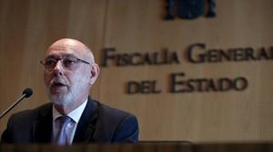 El fiscal general, José Manuel Maza.