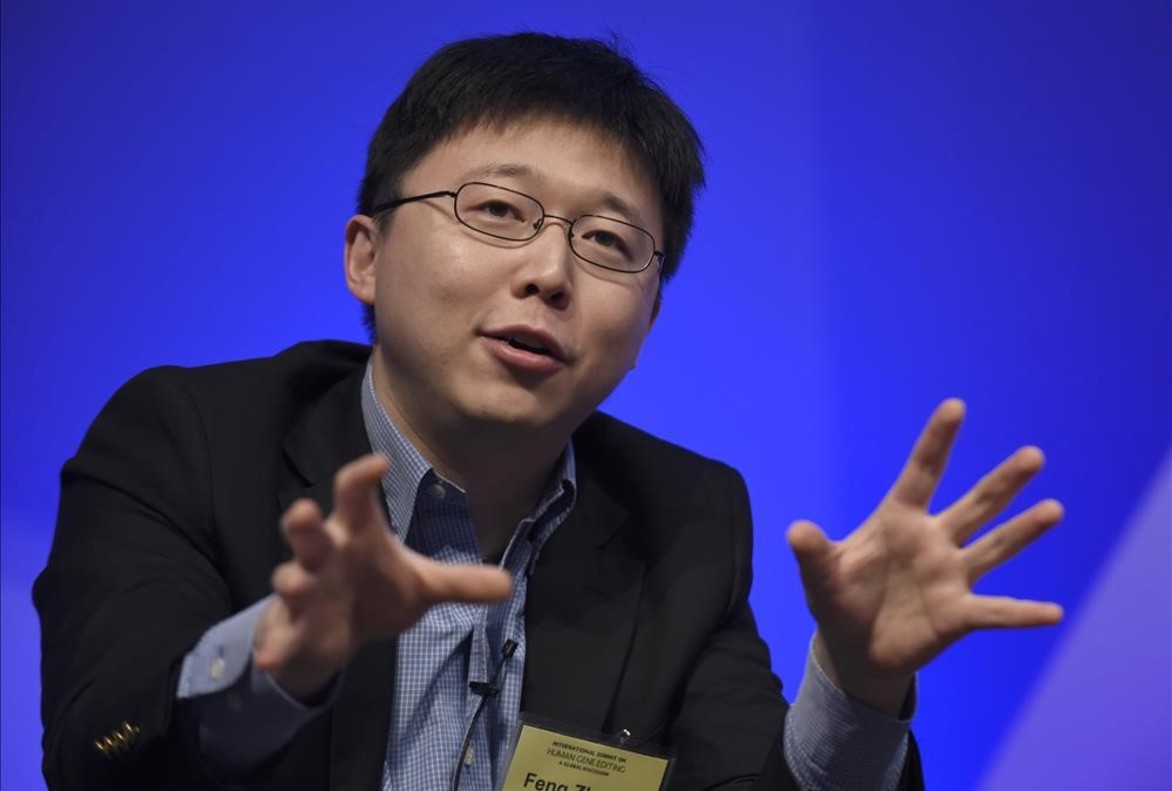 El científico Feng Zhang, resonsable de la investigación publicada en 'Science'.