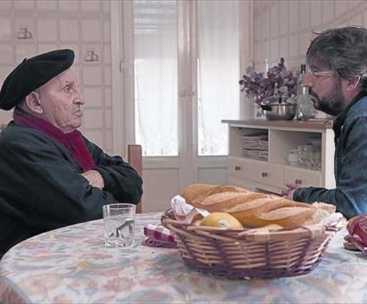 Jordi Évole, con Lucio Uturbia, en el Salvados de esta noche.