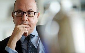 José María Roldán, presidente de la Asociación Española de Banca(AEB), en su despacho.