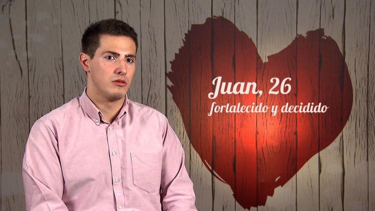 Juan en 'First Dates'.