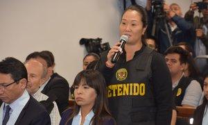 Keiko Fujimori es investigada por el presunto delito de lavado de activos por los aportes que recibió Fuerza Popular para financiar su campaña presidencial el 2011.
