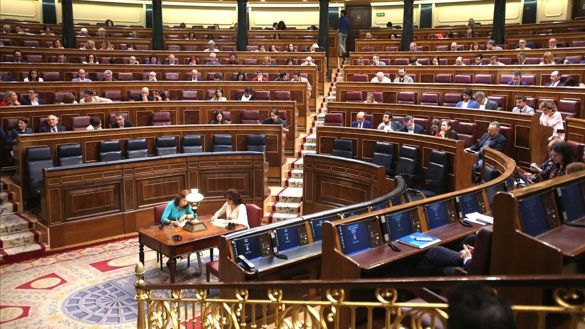 Pleno del Congreso de los Diputados.