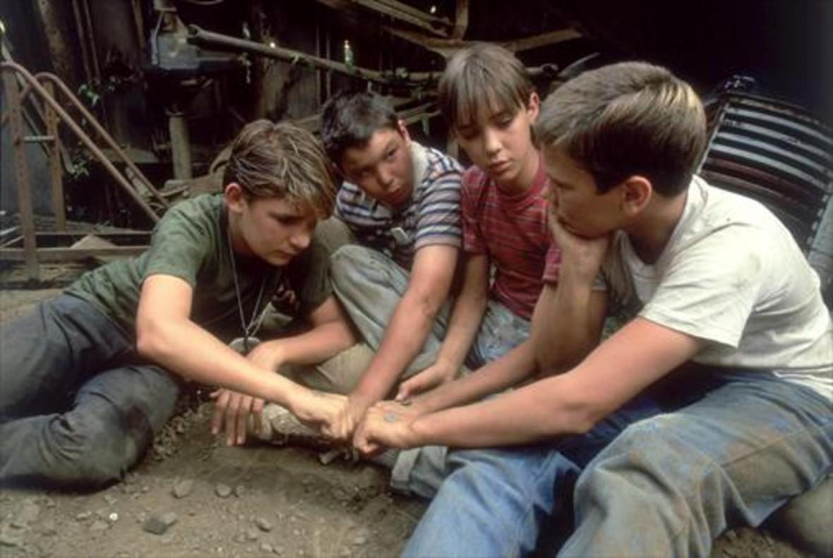 Un fotograma de 'Cuenta conmigo', el canto a la amistad que filmó Rod Reiner en 1987.
