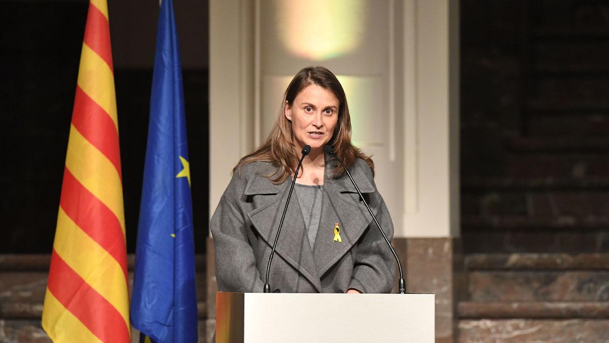 Lexconsellera Meritxell Serret envia un missatge dunió davant la manifestació de dissabte, des de Brussel·les.