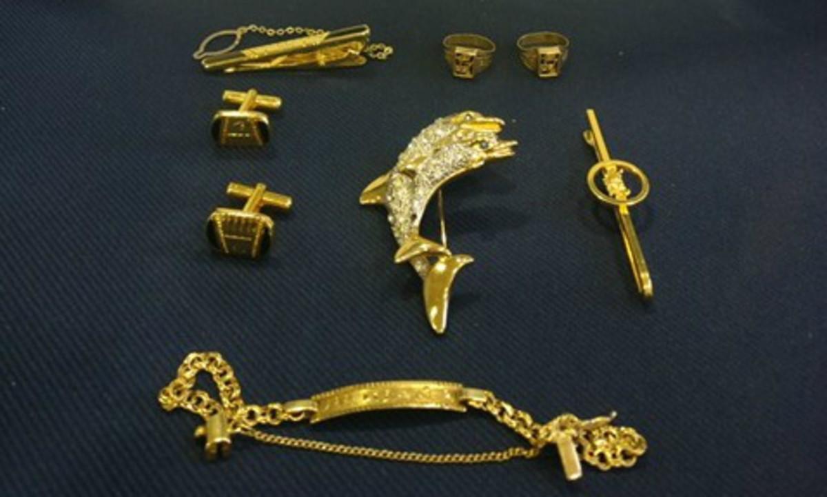 Algunas de las joyas recuperadas por los Mossos dEsquadra.